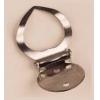 Scarfholder Clip Nickel, 9 pieces